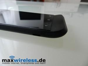 Knick im HTC One V
