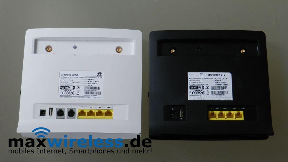 Test Vodafone B2000 Lte Router Maxwireless De