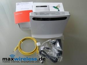Vodafone B2000 Lieferumfang