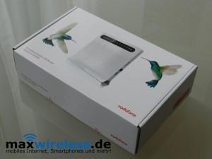 Vodafone B2000 Verpackung