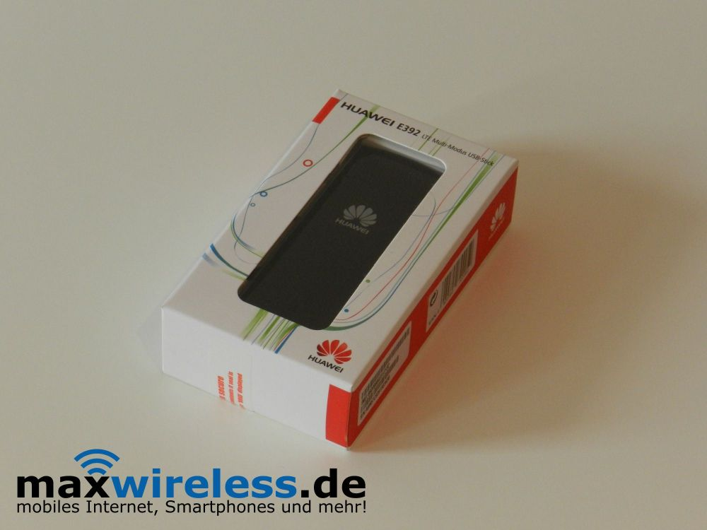 Test Huawei E392 LTE Stick | maxwireless de