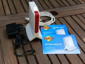 Lieferumfang Fritzbox 6810 LTE