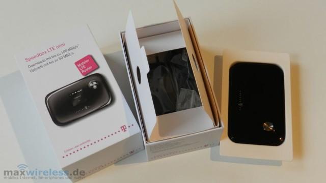 Test Telekom Speedbox LTE mini