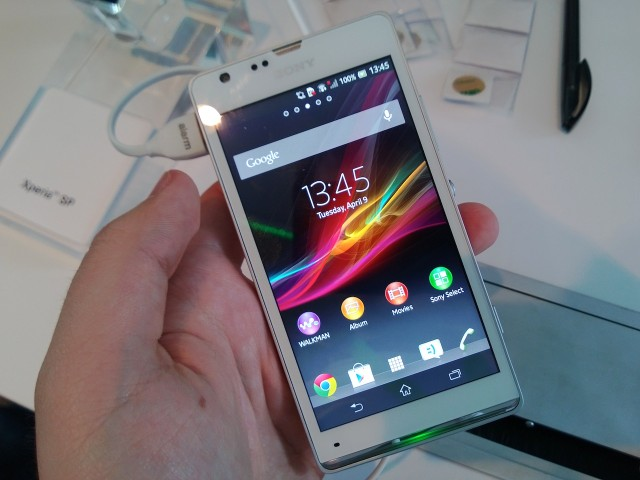 xperia sp front