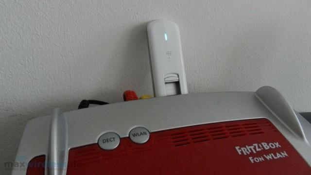 AVM Fritzbox mit Speedstick LTE III
