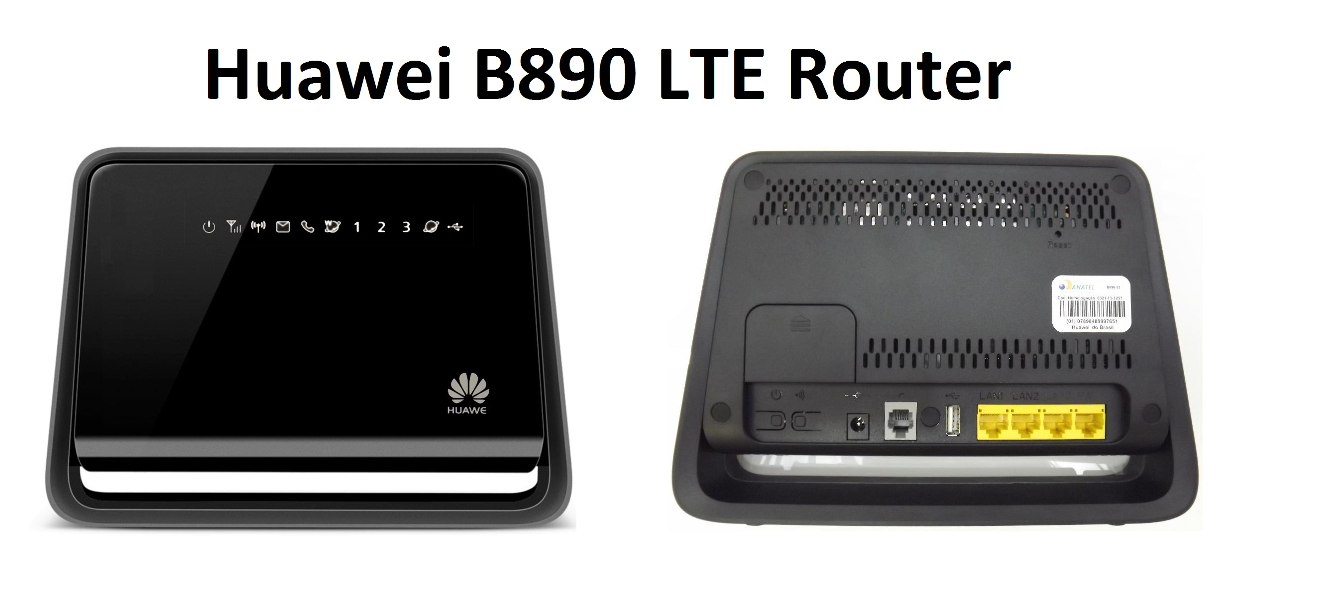 huawei b890 lte router im detail. Black Bedroom Furniture Sets. Home Design Ideas