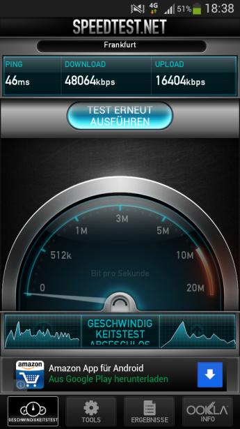 LTE2600-Speedtest