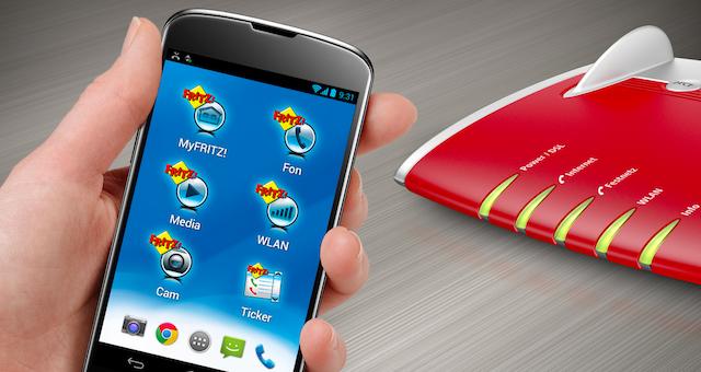 AVM Fritz LTE App