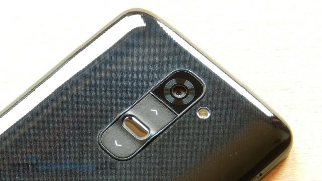 Kamera und Tasten LG G2