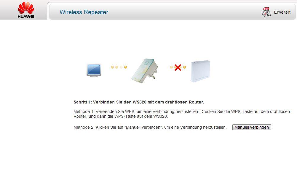 Test Huawei WS320 WLAN-Repeater | maxwireless.de