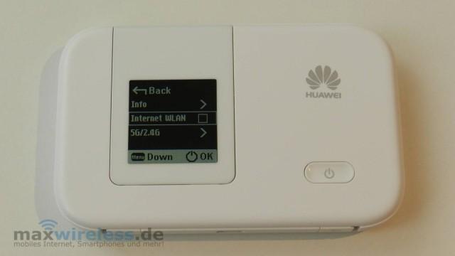 Menue Huawei E5372
