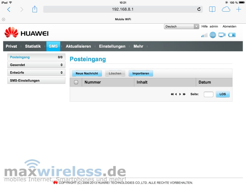 test huawei e5372 mobile wifi hotspot. Black Bedroom Furniture Sets. Home Design Ideas