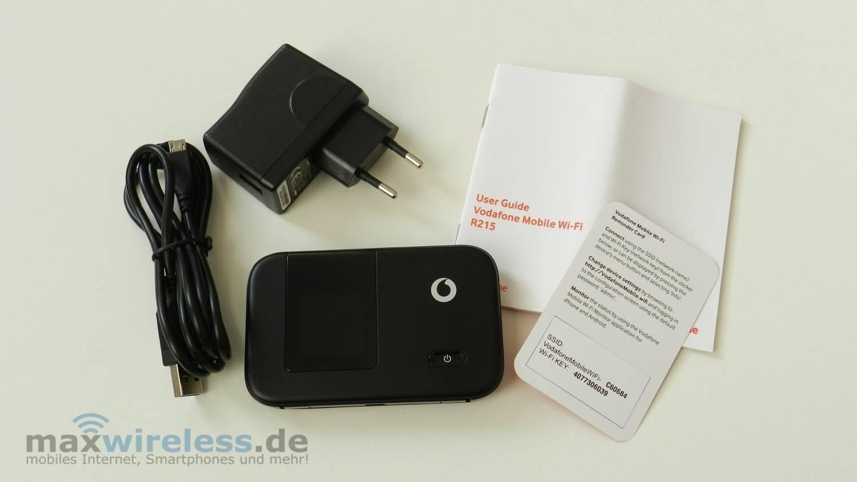 Test Vodafone R215 MiFi Hotspot