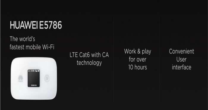 E5786 LTE MiFi