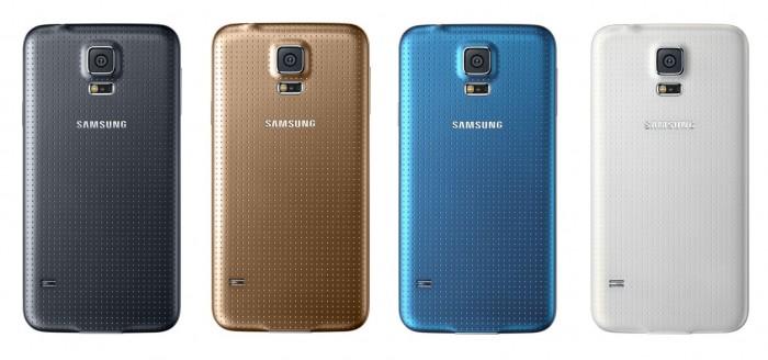 Farben Galaxy S5