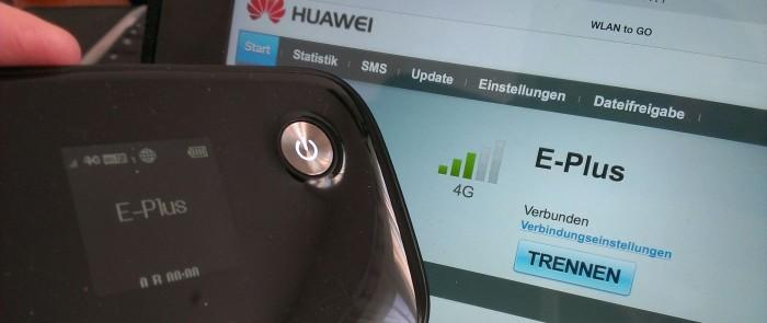 E-Plus LTE Huawei E5776