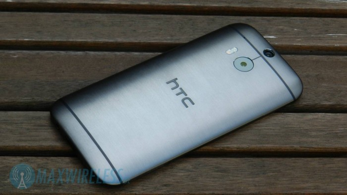 Rueckseite HTC One M8