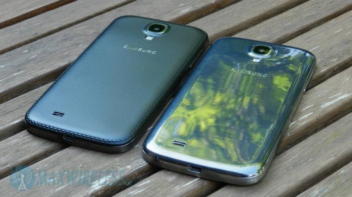 Galaxy S4 Black Edition vs Black Mist