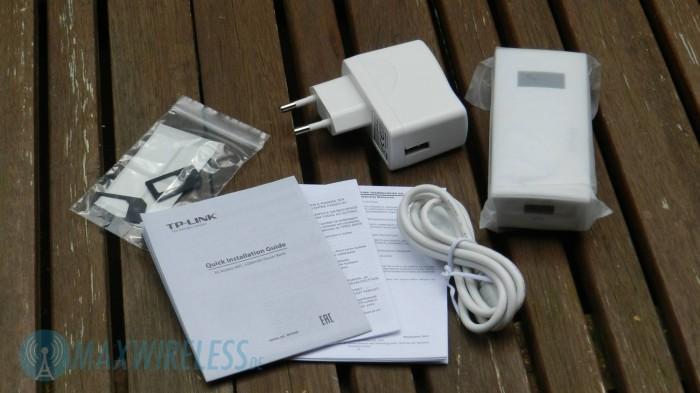 Im Lieferumfang sind auch SIM-Karten Adapter enthalten.