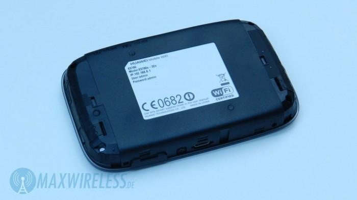 Huawei E5786 Label