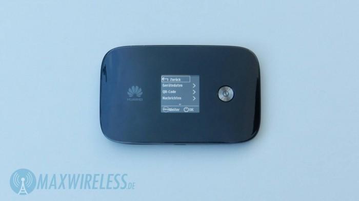 Huawei E5786 Menue