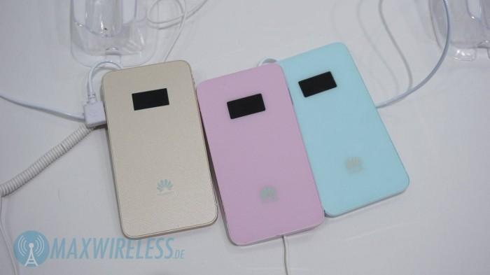 Huawei E5878 Farben