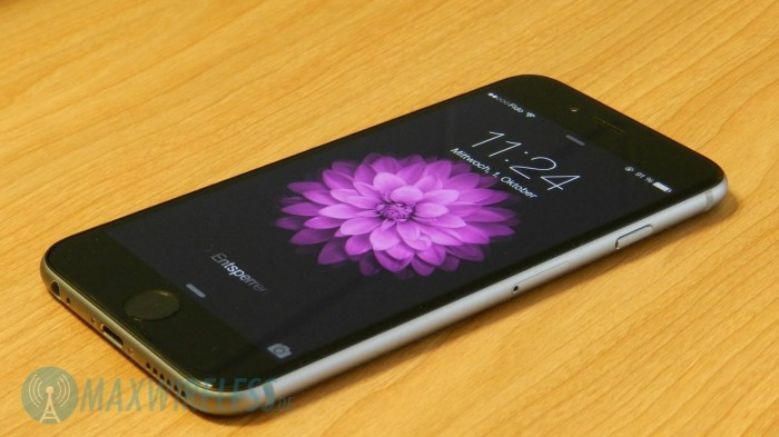 iPhone 6 Lockscreen