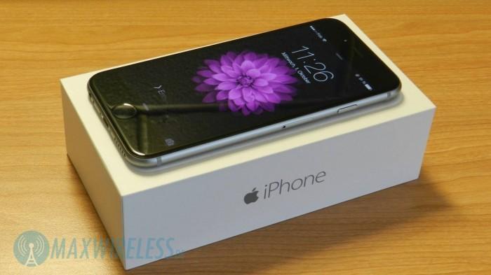 iPhone 6 auf Verpackung