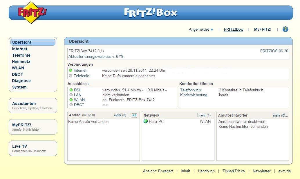 Test: AVM FRITZ!Box 10  maxwireless.de