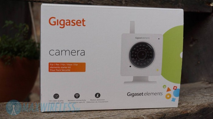 Verpackung Gigaset Camera