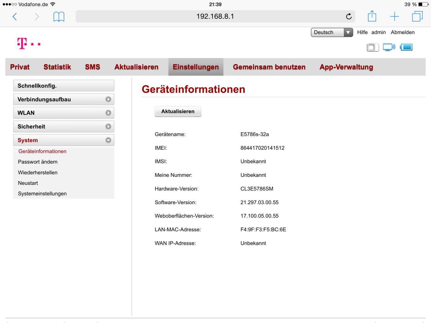 Test: Telekom Speedbox LTE mini II