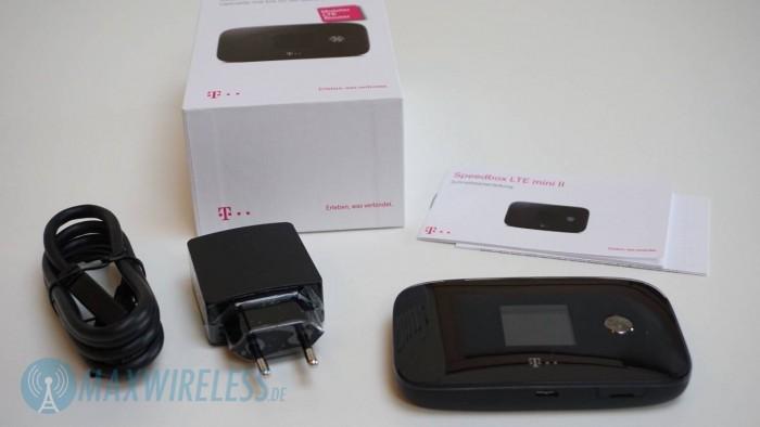 Lieferumfang Speedbox LTE mini II