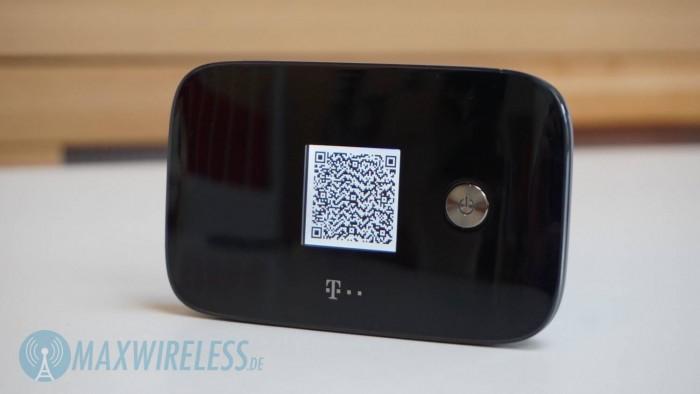 Ein QR-Code kann zur Installation der App angezeigt werden