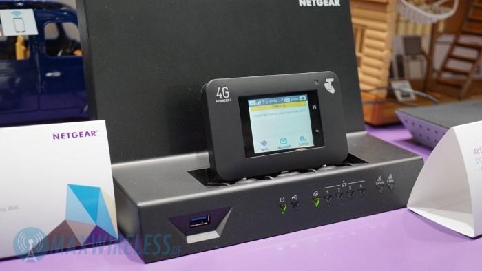 Das Netgear SmartCradle DC112A.