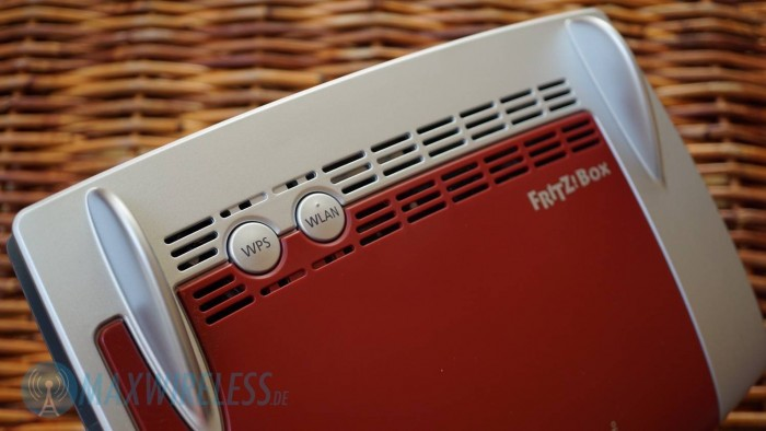 Tasten Fritzbox 3490