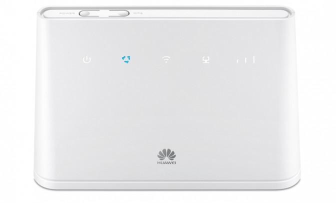 Der Huawei B310 ist in schwarz (siehe oben) und weiß erhältlich.