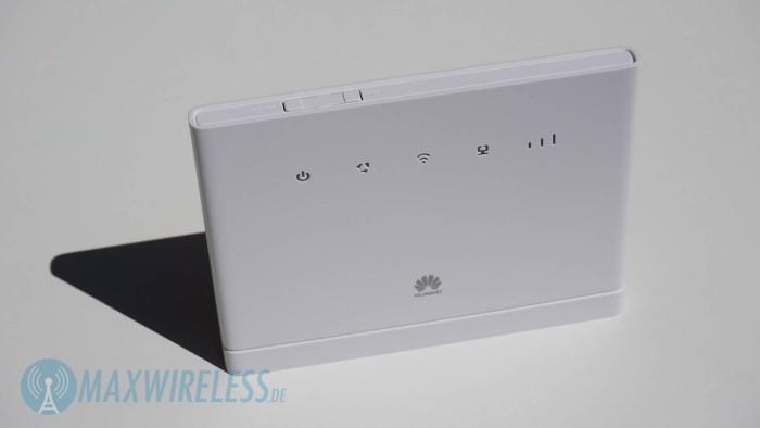 Der Huawei B315 von vorne...