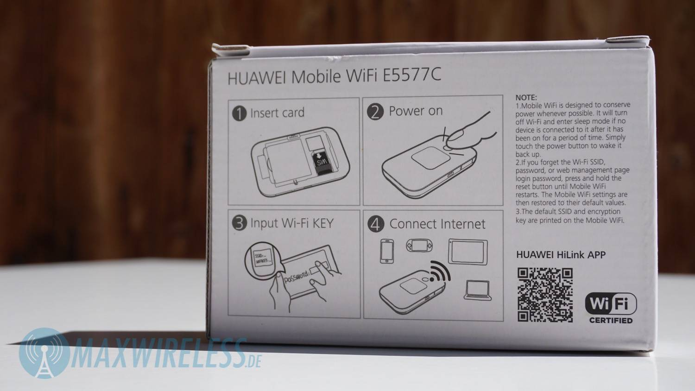 Test Huawei E5577c Lte Mifi Hotspot Maxwireless De