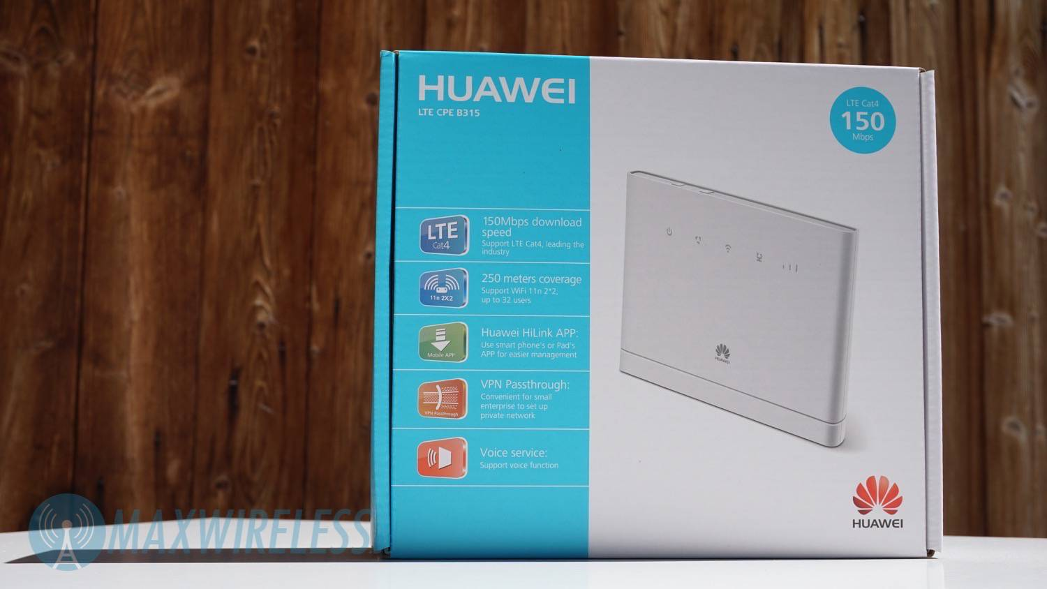 test huawei b315 lte cat4 router. Black Bedroom Furniture Sets. Home Design Ideas