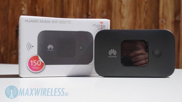 Huawei E5577 Verpackung