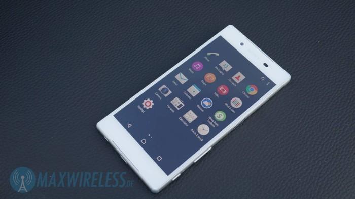 Menue Sony Xperia Z5