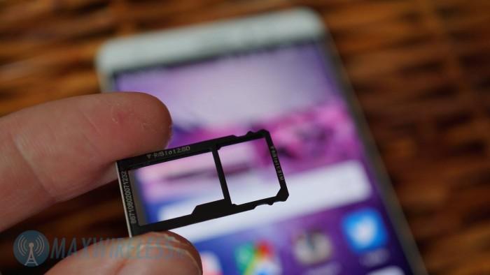 SIM Slot Huawei Mate S