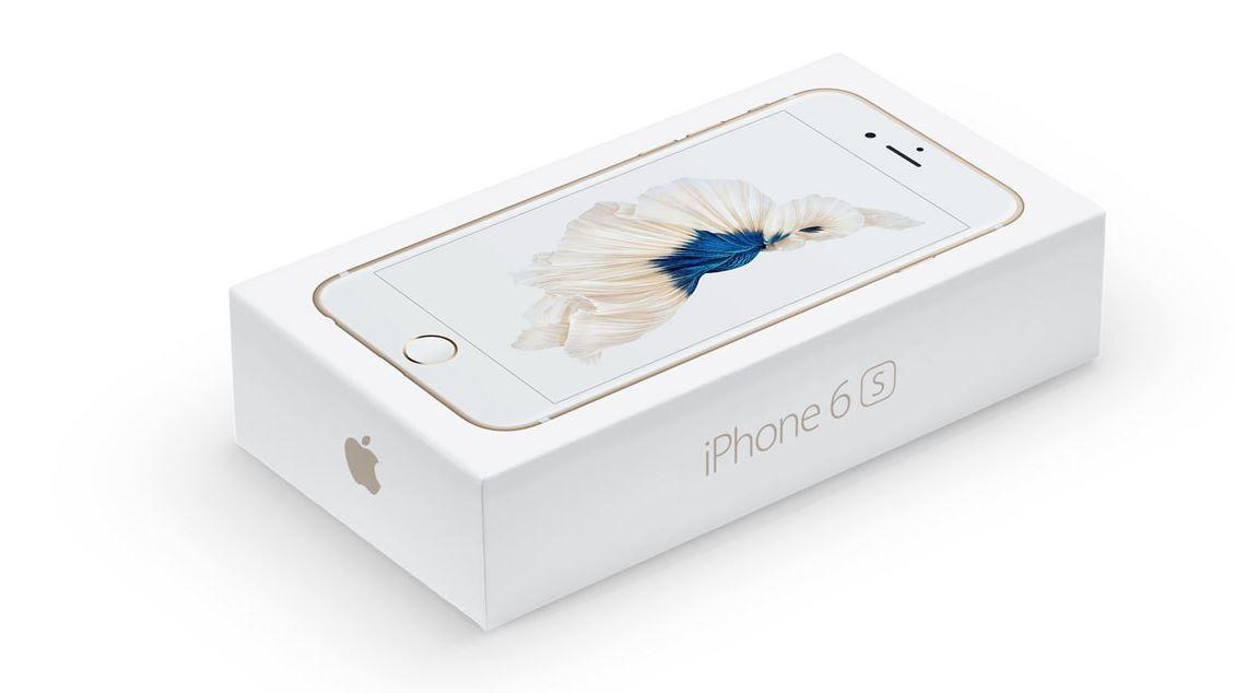 Zwei Versionen von iPhone 6s und iPhone 6S Plus