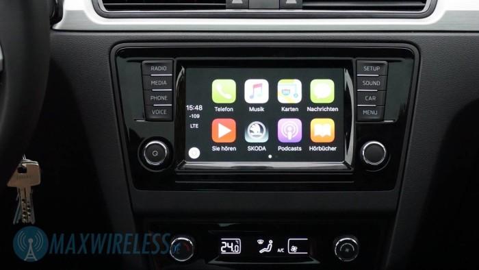 Apple CarPlay Homescreen