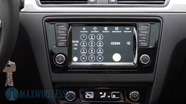 Test: Skoda SmartLink mit Apple CarPlay und Android Auto