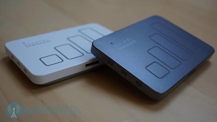 Den Alcatel Y900 gibt es in grau und weiss.