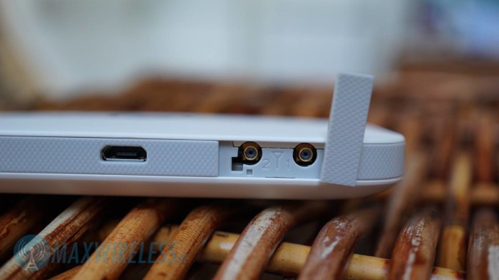 Huawei E5573 Antennenanschluesse