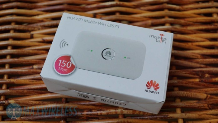 Huawei E5573 Verpackung