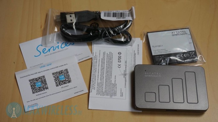 Lieferumfang Alcatel Y900