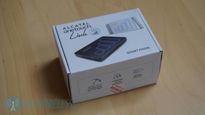 Verpackung Alcatel Y900